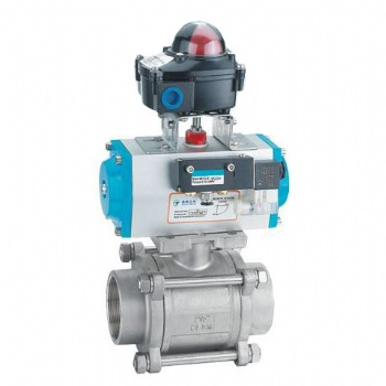 3PC Ball Valve with Actuator