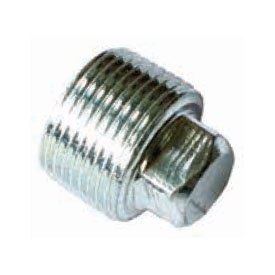 Galvanised Square Plug