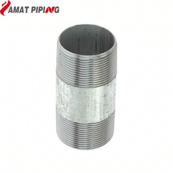 Galvanised Barrel Nipple