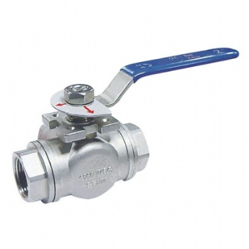 Female Three Way Ball Valve